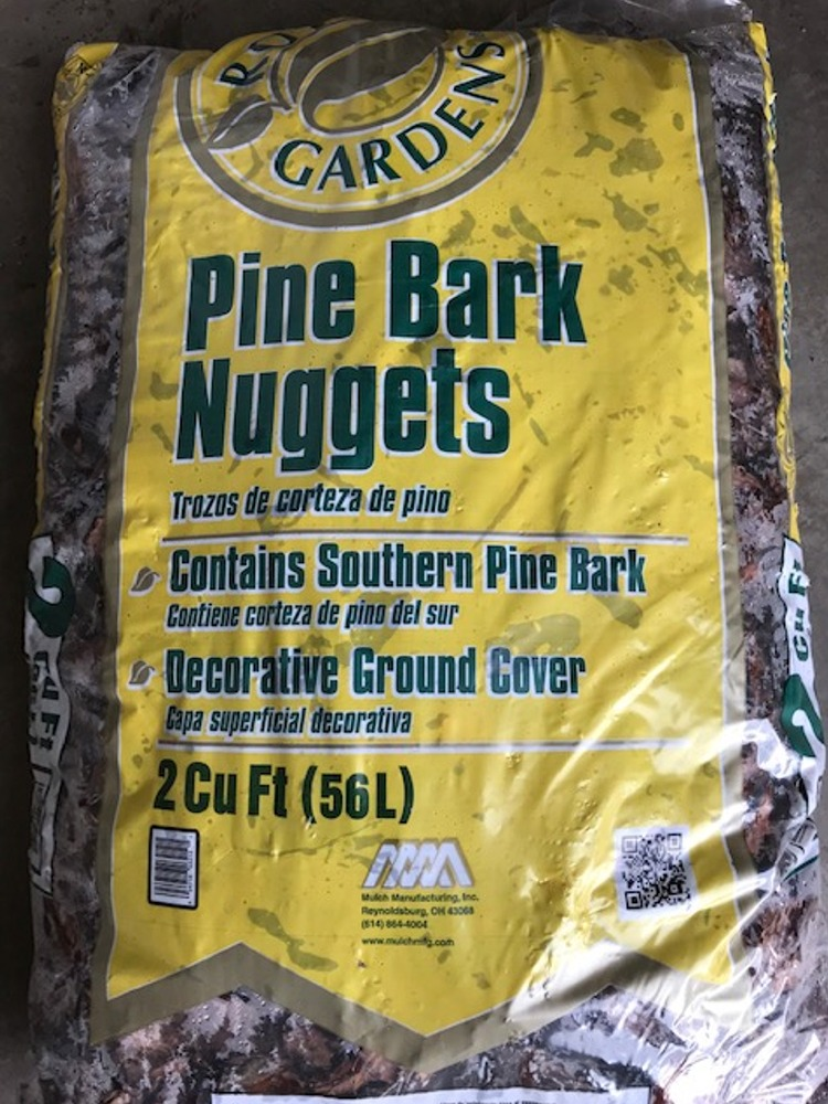 Pine Bark Nuggets Bagged Champion Landscape Equipment And Supply